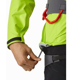 Alpha FL Jacket Pulse Hem Adjuster