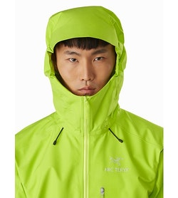 Alpha FL Jacket Pulse Hood Up
