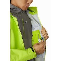 Alpha FL Jacket Pulse Internal Security Pocket