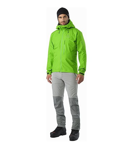 Alpha FL Jacket Rohdei Front View