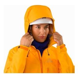 Alpha FL Jacket Women's Dawn Helmet Compatible Hood