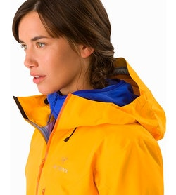 Alpha FL Jacket Women's Dawn Hood Down