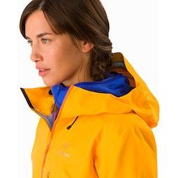 Alpha FL Jacket Women's Dawn Hood Down