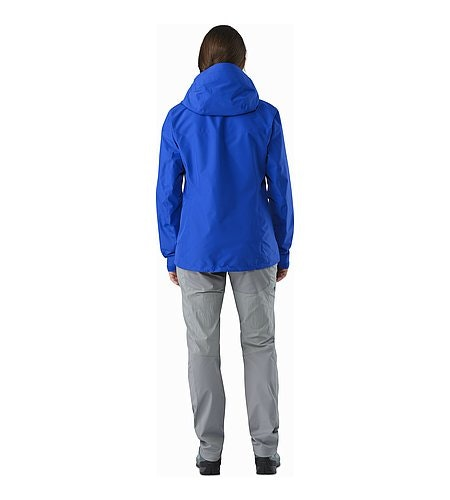 Alpha FL Jacket Women's Somerset Blue Back View
