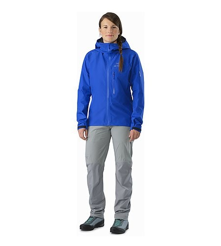 Alpha FL Jacket Women's Somerset Blue Front View