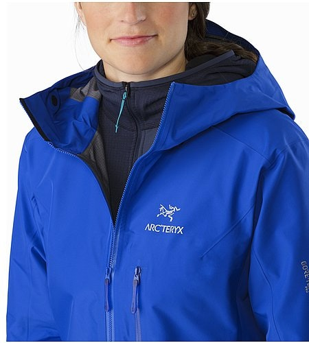 Alpha FL Jacket Women's Somerset Blue Open Collar