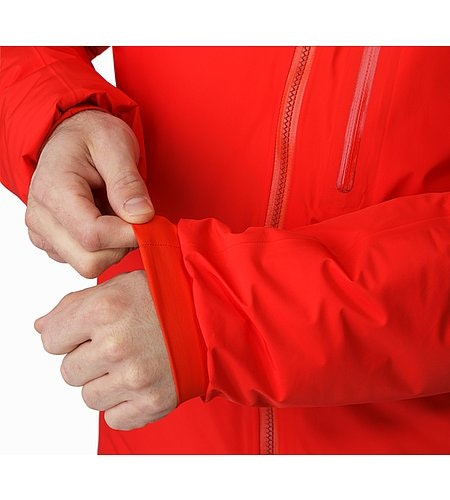 Alpha IS Jacket Magma Elasticized Cuffs