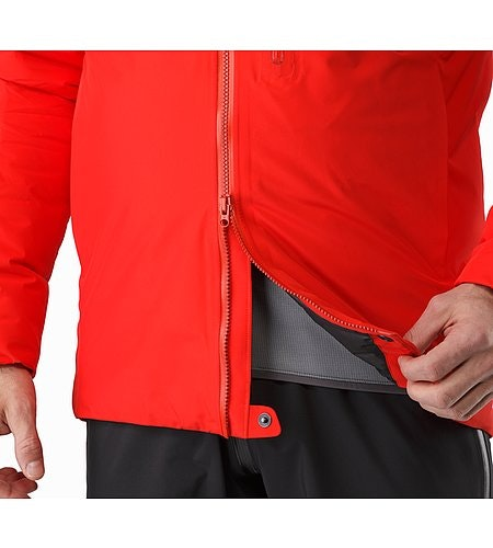 Alpha IS Jacket Magma Two Way Zipper