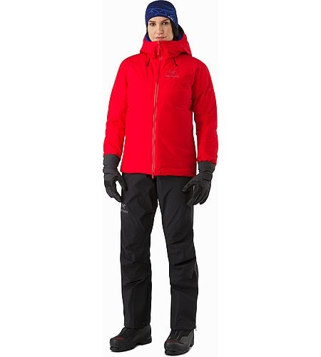 Alpha IS Jacket Women's Magma Front View