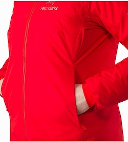 Alpha IS Jacket Women's Magma Hand Pocket