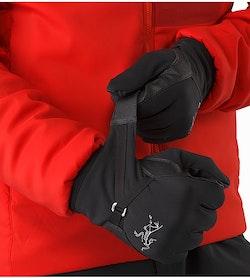 Alpha MX Glove Black Cuffs