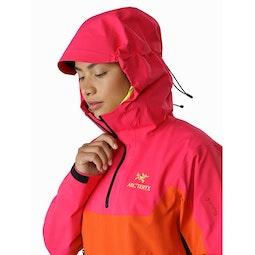 Alpha Pullover Women's Tourmaline Phoenix Hood