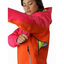 Alpha Pullover Women's Tourmaline Phoenix Pit Zip