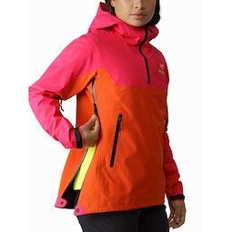 Alpha Pullover Women's Tourmaline Phoenix Side Zipper