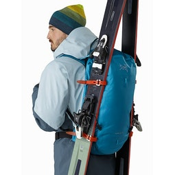 Alpha SK 32 Backpack Dark Firoza A Frame Side
