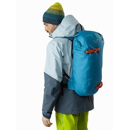 Alpha SK 32 Backpack Dark Firoza Back View