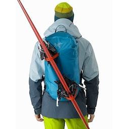 Alpha SK 32 Backpack Dark Firoza Diagonal Carry