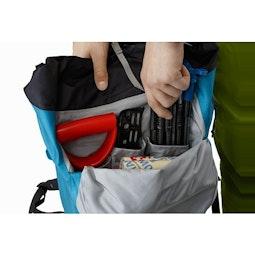 Alpha SK 32 Backpack Dark Firoza Front Pocket Compartments 2