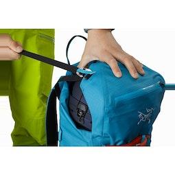 Alpha SK 32 Backpack Dark Firoza Top Lid Pocket
