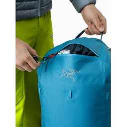 Alpha SK 32 Backpack Dark Firoza Top Pocket