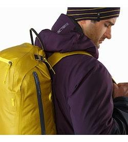 Alpha SK 32 Backpack Everglade Shoulder Straps