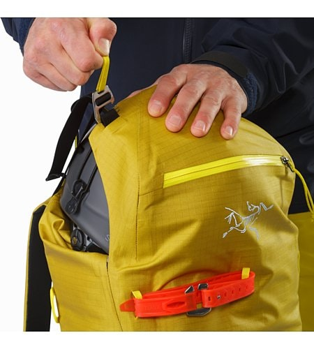 Alpha SK 32 Backpack Everglade Top Lid Adjuster