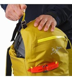 Alpha SK 32 Backpack Everglade Top Lid Adjuster