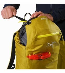 Alpha SK 32 Backpack Everglade Top Lid Pocket