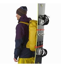 Alpha SK 32 Backpack Everglade Vertical Snowboard Carry