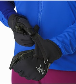 Alpha SL Glove Black Wrist Cinch