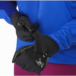 Alpha SL Glove Black Manschetten-Zugband