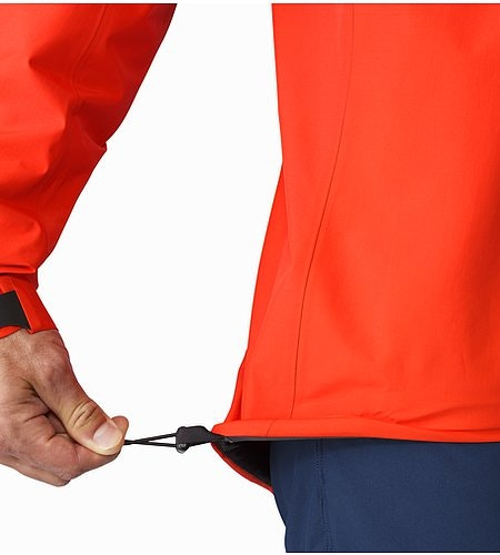 Alpha SL Jacket Magma Hem Adjuster