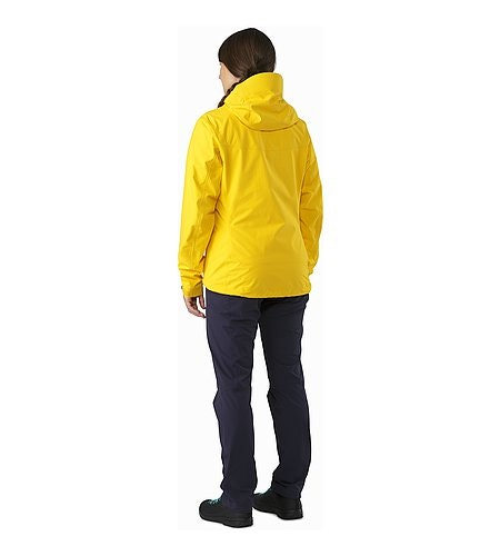 Alpha SL Jacket Women's Golden Poppy Back View