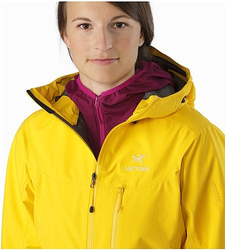 Alpha SL Jacket Women's Golden Poppy Open Collar