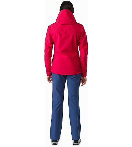 Alpha SL Jacket Women's Radicchio Back View