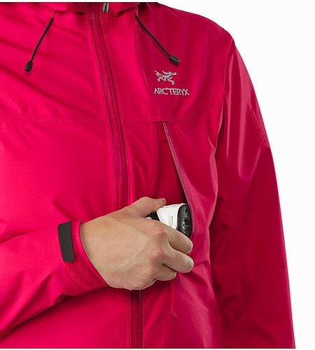 Alpha SL Jacket Women's Radicchio Chest Pocket