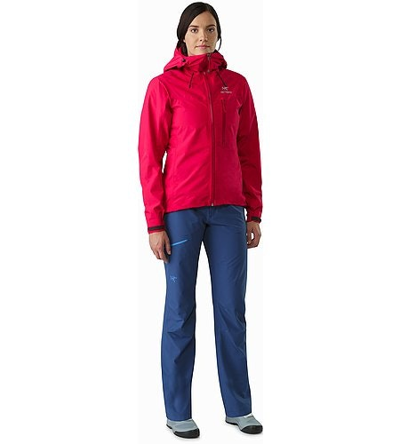 Alpha SL Jacket Women's Radicchio Front View