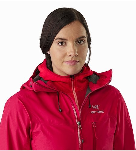 Alpha SL Jacket Women's Radicchio Open Collar