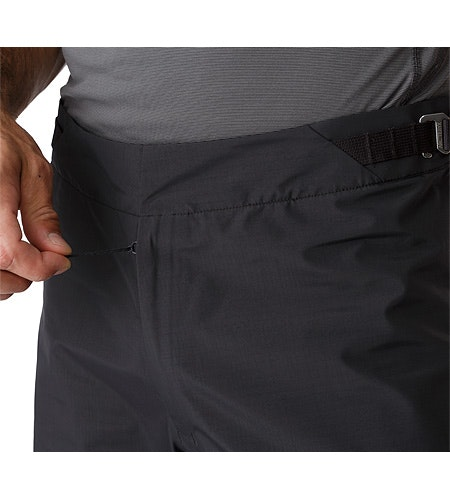 Alpha SL Pant Black Zippered Fly