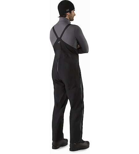 Alpha SV Bib Black Back View 2