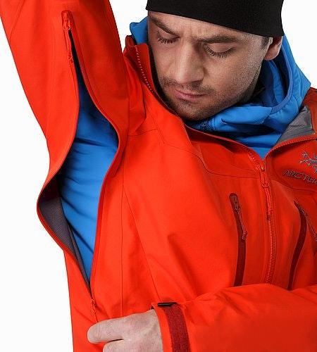 Alpha SV Jacket Cardinal Pit Zip