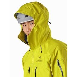Alpha SV Jacket Glade Helmet Compatible Hood