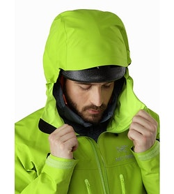 Alpha SV Jacket Utopia Helmet Compatible Hood