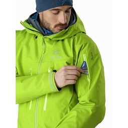 アルファ SV ジャケット ユートピア 袖ポケット
