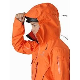 Alpha SV Jacket Women's Awestruck Helmet Compatible Hood