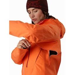 Alpha SV Jacket Women's Awestruck Pit Zip