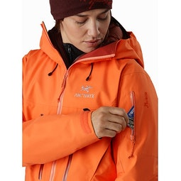 Alpha SV Jacket Women's Awestruck Sleeve Pocket
