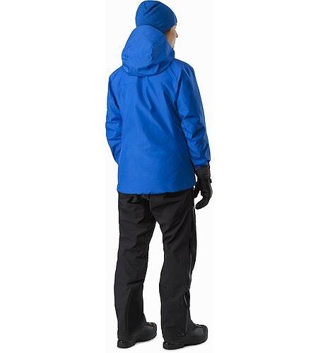 Alpha SV Jacket Women's Somerset Blue Rückansicht