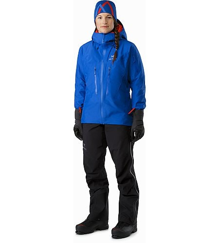 Alpha SV Jacket Women's Somerset Blue Front View