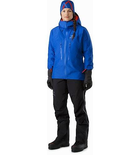 Alpha SV Jacket Women's Somerset Blue Vorderansicht